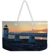 Sunset In Maine Weekender Tote Bag