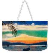 Sunset In Manuel Antonio  Weekender Tote Bag