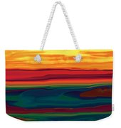 Sunset In Ottawa Valley Weekender Tote Bag