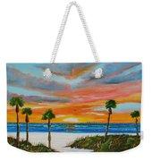 Sunset In Paradise Weekender Tote Bag by Lloyd Dobson