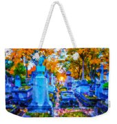 Sunset In Pere Lachaise Abstraction Weekender Tote Bag