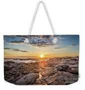 Sunset In Prospect, Nova Scotia Weekender Tote Bag