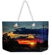 Sunset In Santa Fe Weekender Tote Bag