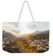 Sunset In Sion Weekender Tote Bag