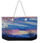 Sunset In The Country Weekender Tote Bag