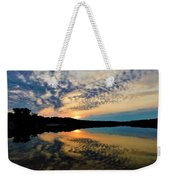 Sunset In The Pinelands  Weekender Tote Bag