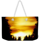 Sunset In The Round Weekender Tote Bag