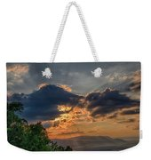 Sunset In The Shenandoah Valley Weekender Tote Bag