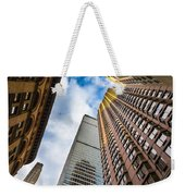 Sunset In The Urban Canyon Weekender Tote Bag