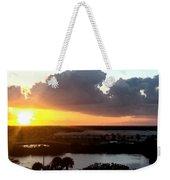 Sunset In Viera Florida Weekender Tote Bag
