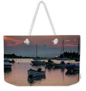 Sunset In West Falmouth Weekender Tote Bag