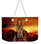 Sunset Indian Chief Weekender Tote Bag