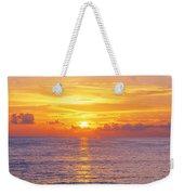 Sunset, Indian Rocks Beach, Florida, Usa Weekender Tote Bag