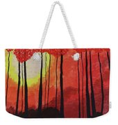 Sunset Into The Forest Weekender Tote Bag