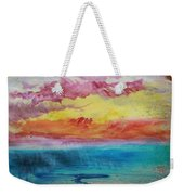 Sunset Lagoon Weekender Tote Bag