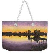 Sunset At Ryba Lake Weekender Tote Bag