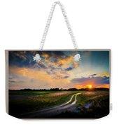 Sunset Lane Weekender Tote Bag