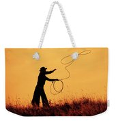 Sunset Lariat 4 Weekender Tote Bag