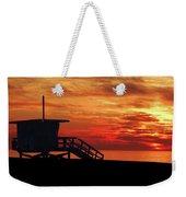 Sunset Lifeguard Station Series Weekender Tote Bag
