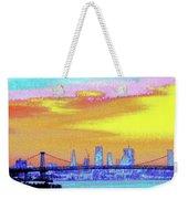 Sunset Lower Manhattan 2c5 Weekender Tote Bag