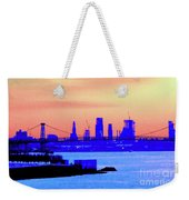 Sunset Lower Manhattan 2c2 Weekender Tote Bag