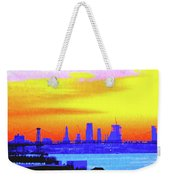 Sunset Lower Manhattan 2c3 Weekender Tote Bag