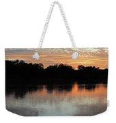 Sunset, Luangwa River, Zambia Weekender Tote Bag