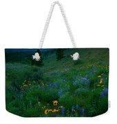 Sunset Meadow Trail Weekender Tote Bag