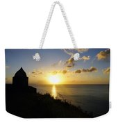 Sunset Monument Weekender Tote Bag