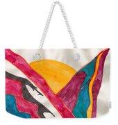 Sunset Mountains Weekender Tote Bag