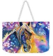 Sunset Mustang Weekender Tote Bag