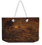 Sunset Near Arbonne , Theodore Rousseau Weekender Tote Bag