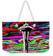 Sunset Needle 2 Weekender Tote Bag