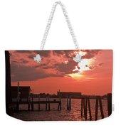 Sunset Newport Rhode Island Weekender Tote Bag
