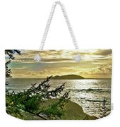 Sunset Off Vancouver Island Weekender Tote Bag
