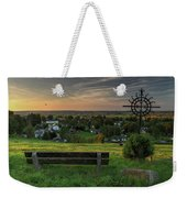 Sunset On A Beautiful Place Weekender Tote Bag