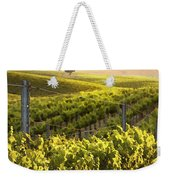 Sunset On A Vineyard Weekender Tote Bag