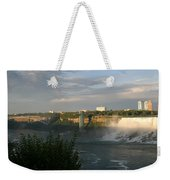 Sunset On American Falls 2 Weekender Tote Bag