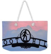 Sunset On Boot Hill Weekender Tote Bag