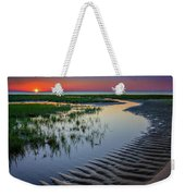 Sunset On Cape Cod Weekender Tote Bag