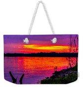 Sunset On Crab Orchard Weekender Tote Bag