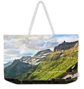 Sunset On Going To The Sun Road Weekender Tote Bag