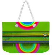 Sunset On Green Weekender Tote Bag