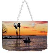 Sunset On Lake Dora At Mount Dora Florida Weekender Tote Bag