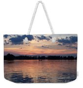 Sunset On Lake Mattoon Weekender Tote Bag