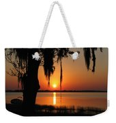 Sunset On Lake Minneola Weekender Tote Bag