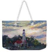 Sunset On Lake Shore Mississauga Weekender Tote Bag