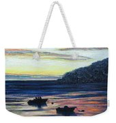 Sunset On Maine Coast Weekender Tote Bag