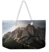 Sunset On Mighty Mountain Weekender Tote Bag