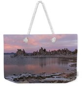 Sunset On Mono Lake Weekender Tote Bag